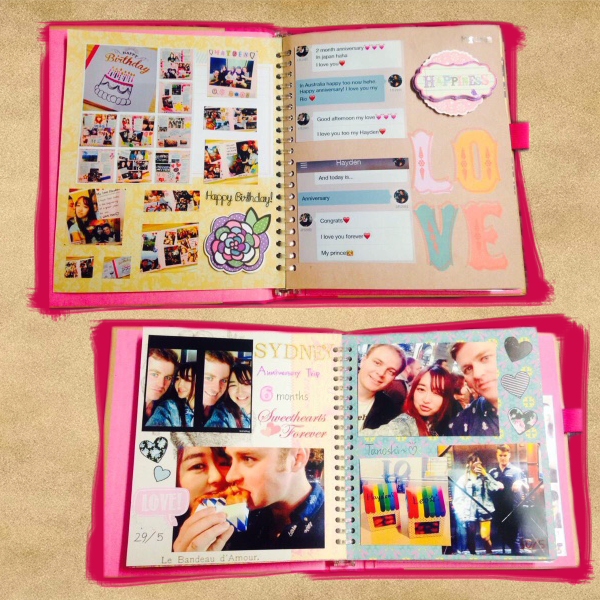 Photo hand made album
